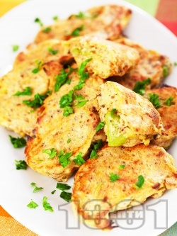 Крокети от тиквички печени на фурна - снимка на рецептата